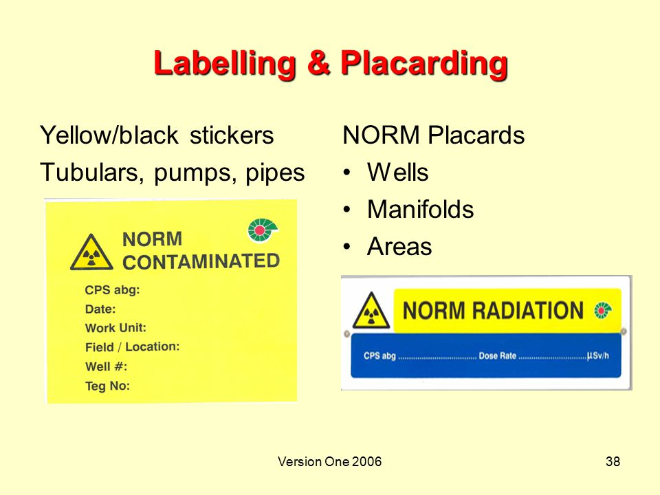 Labelling & Placarding