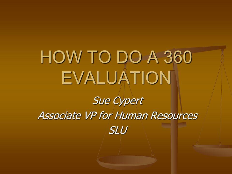 Sue Cypert Associate VP for Human Resources SLU