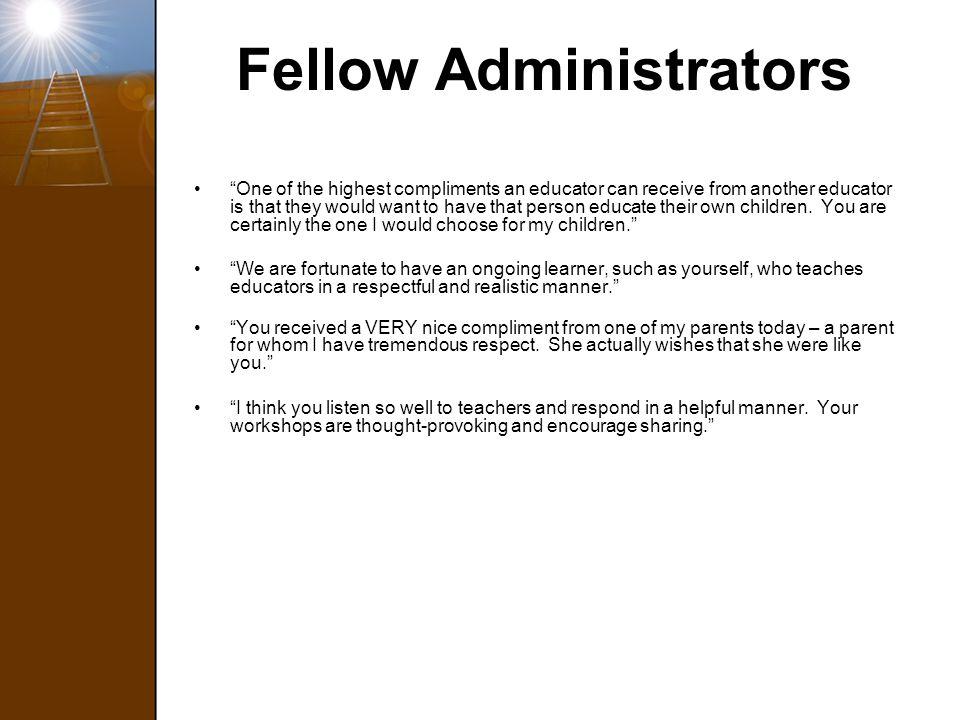 Fellow Administrators