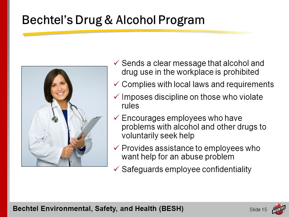 Bechtel's Drug & Alcohol Program