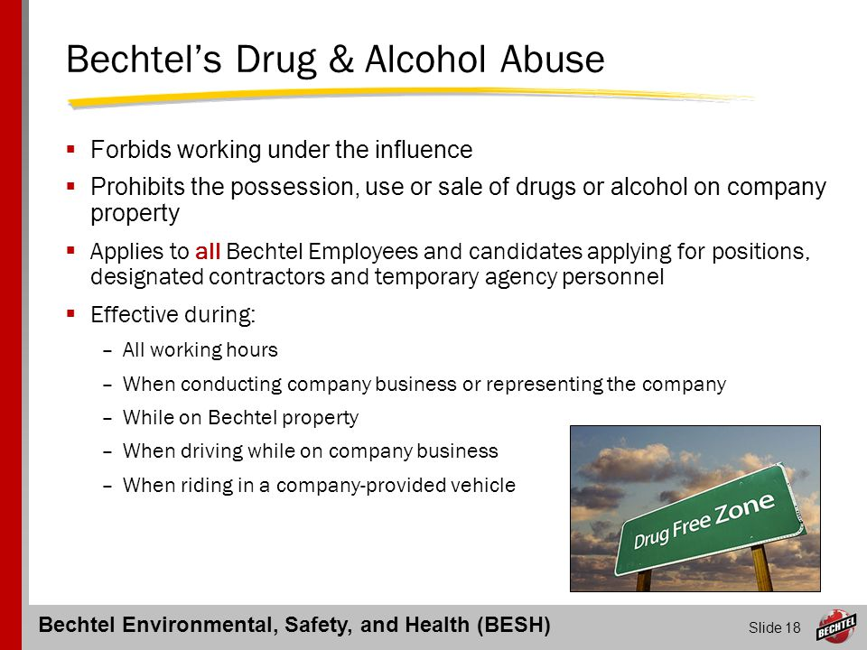 Bechtel's Drug & Alcohol Abuse