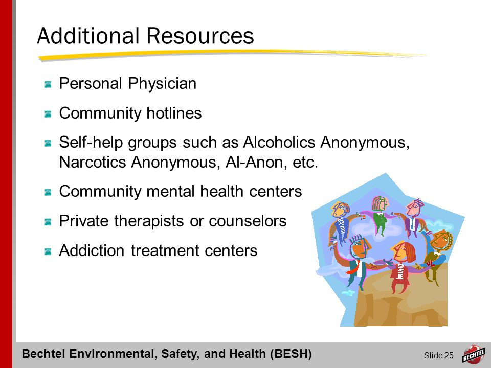 Additional Resources Personal Physician Community hotlines