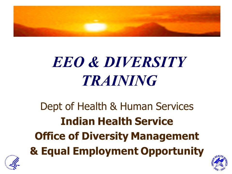 EEO & DIVERSITY TRAINING