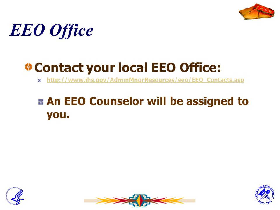 EEO Office Contact your local EEO Office: