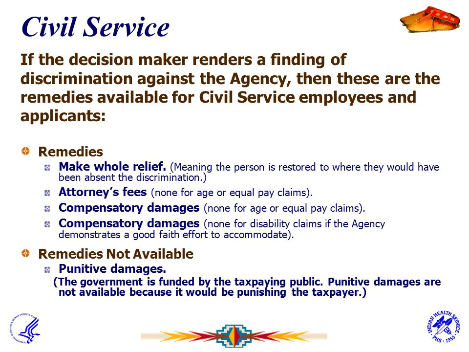Civil Service If the decision maker renders a finding of