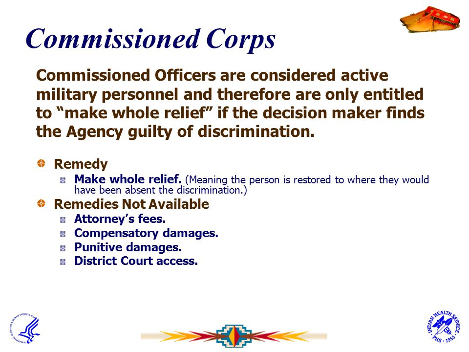 Commissioned Corps Commissioned Officers are considered active