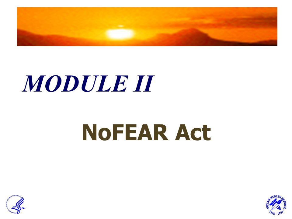 MODULE II NoFEAR Act