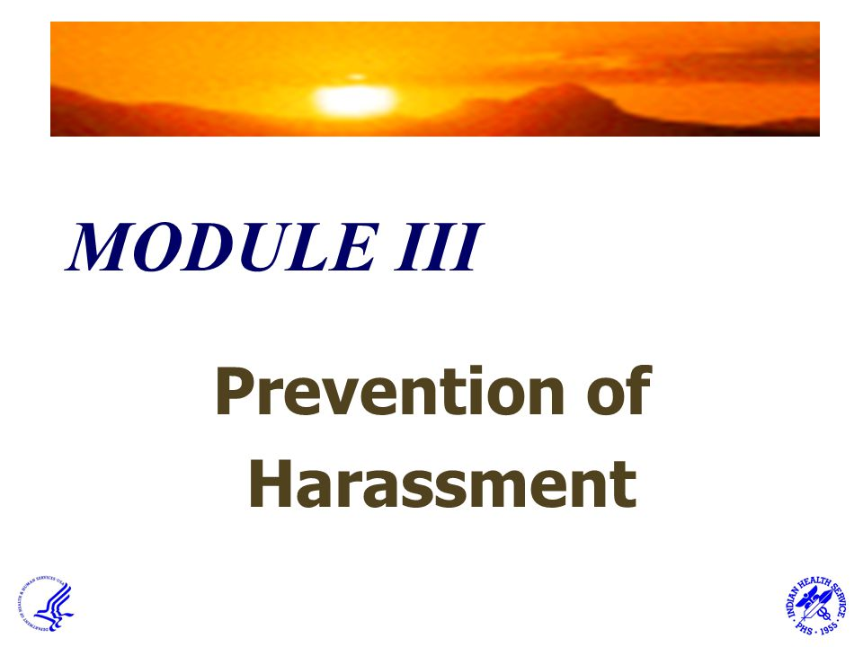 Prevention of Harassment