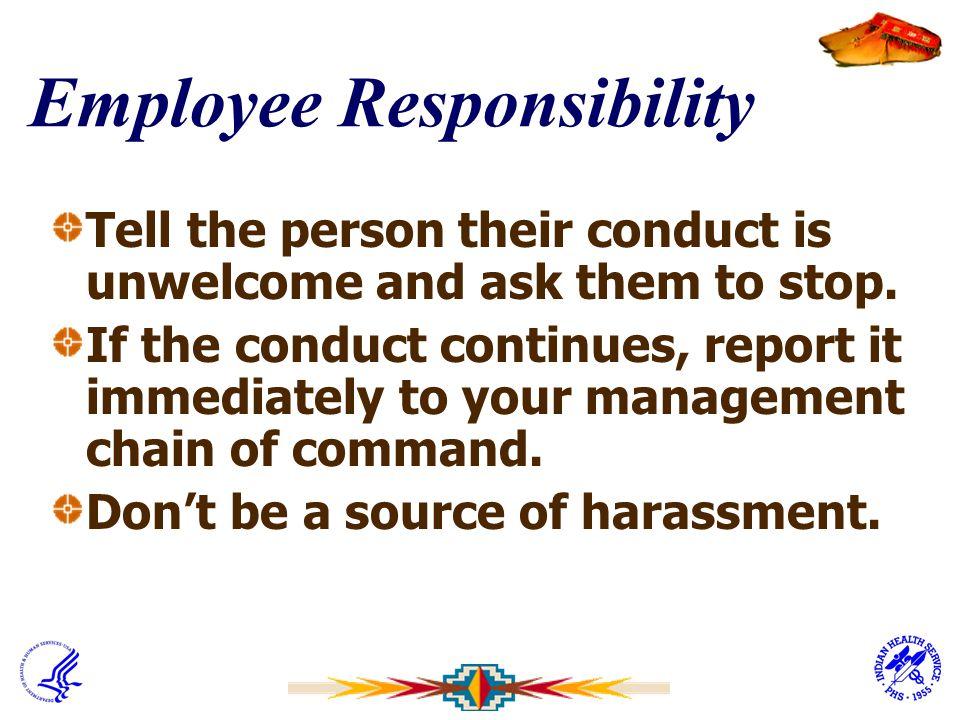 Employee Responsibility