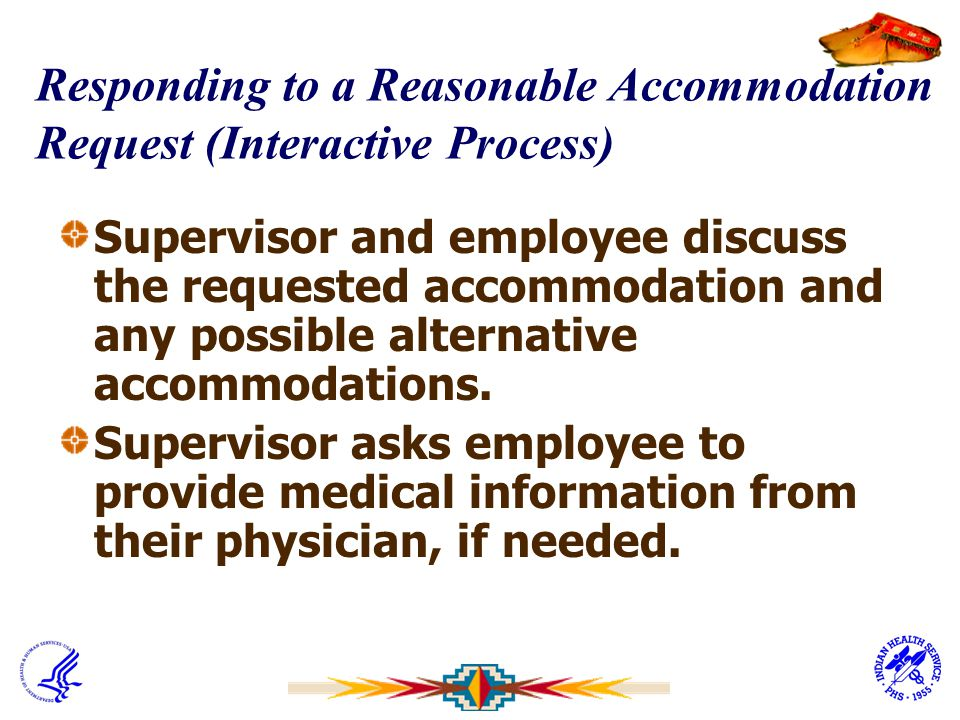 Responding to a Reasonable Accommodation Request (Interactive Process)