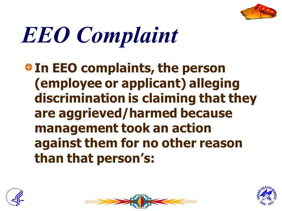 EEO Complaint