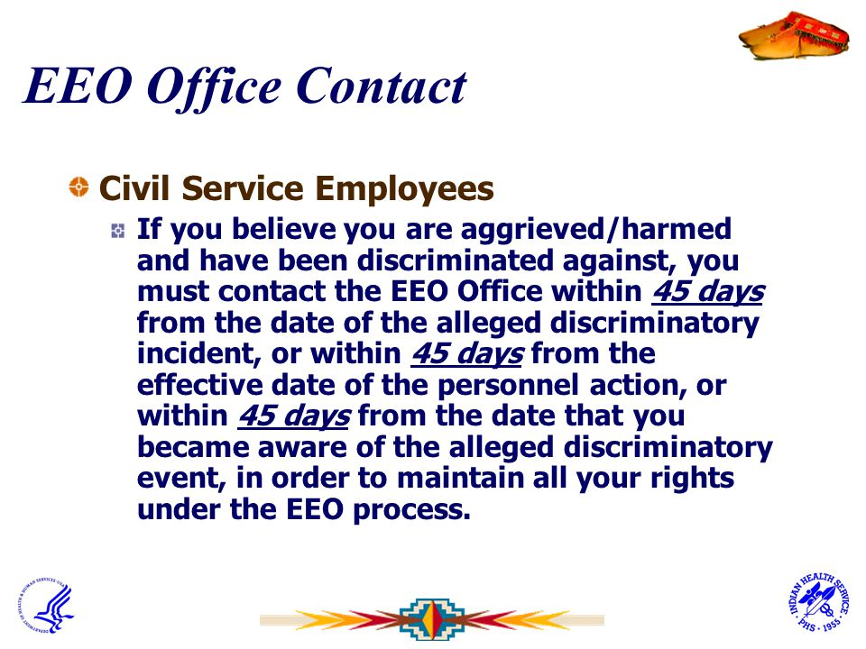 EEO Office Contact Civil Service Employees