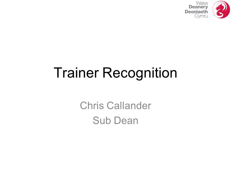 Chris Callander Sub Dean