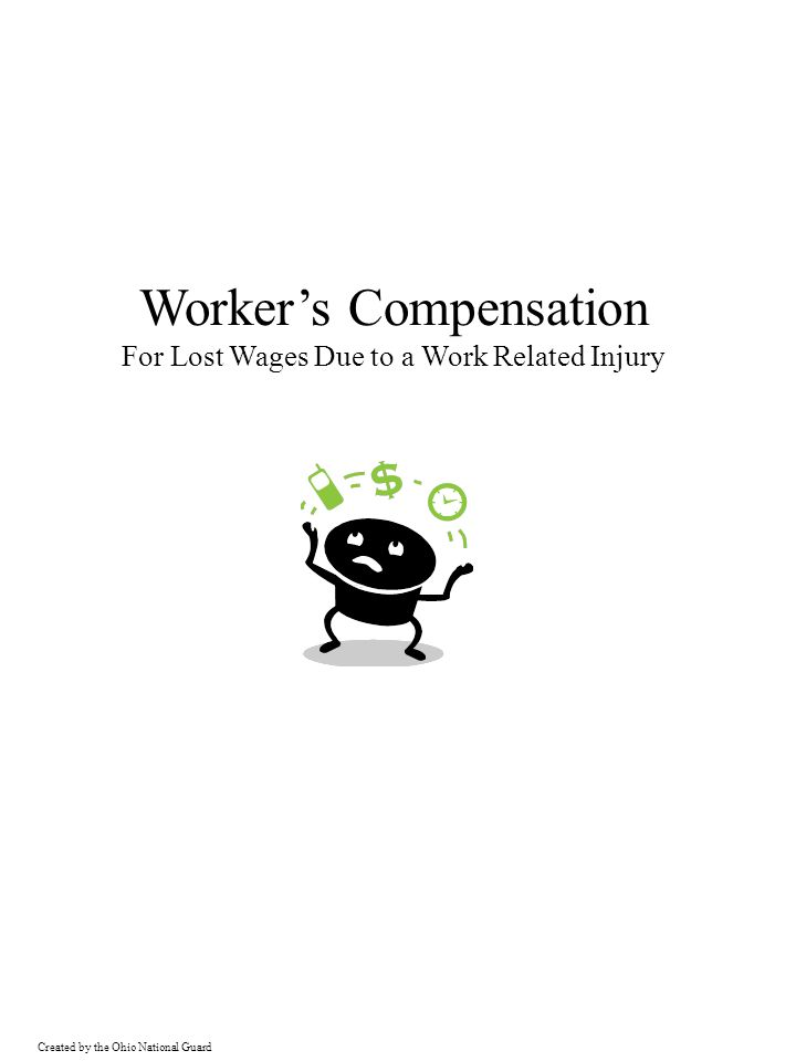 Worker's Compensation For Lost Wages Due to a Work Related Injury