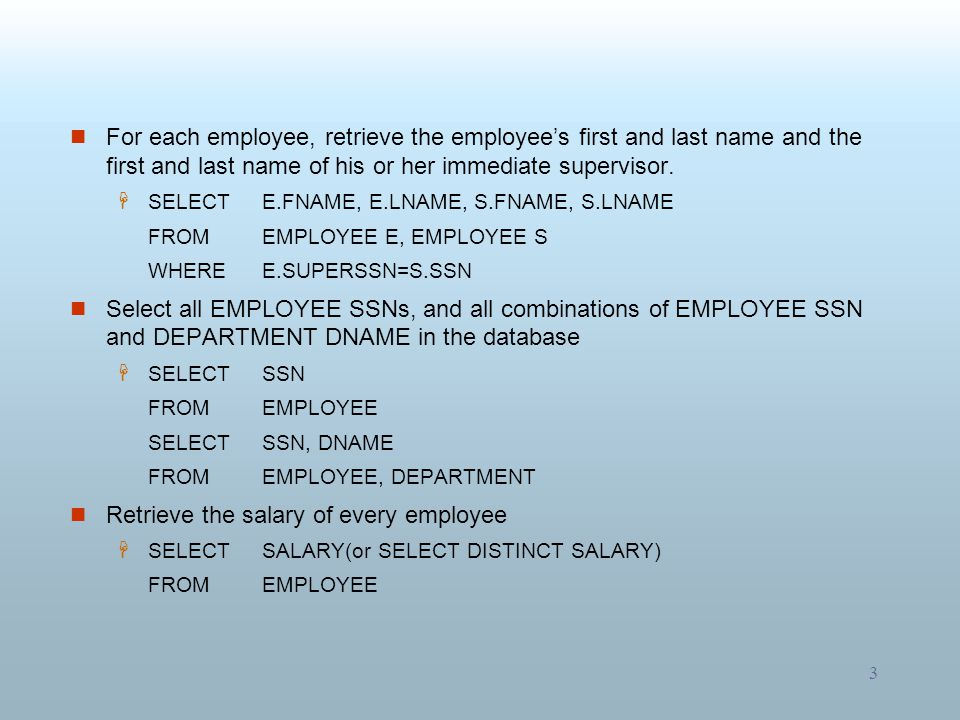 Retrieve the salary of every employee