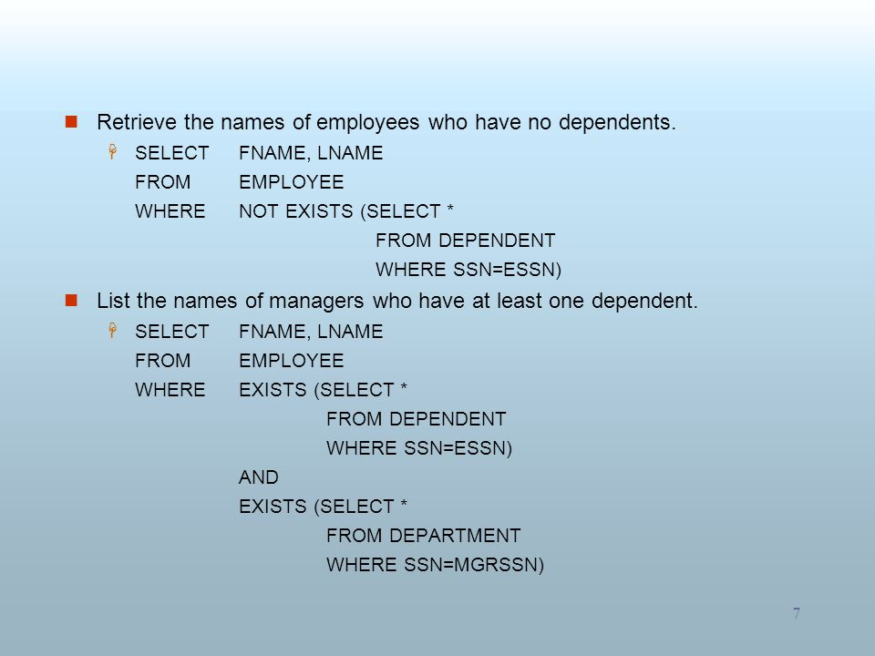 Retrieve the names of employees who have no dependents.