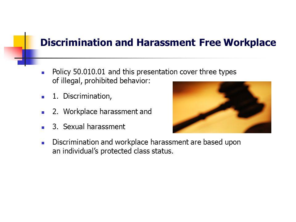 discrimination harassment