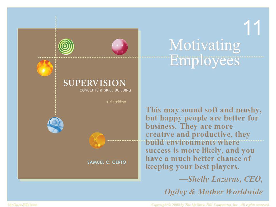 11 Motivating Employees.