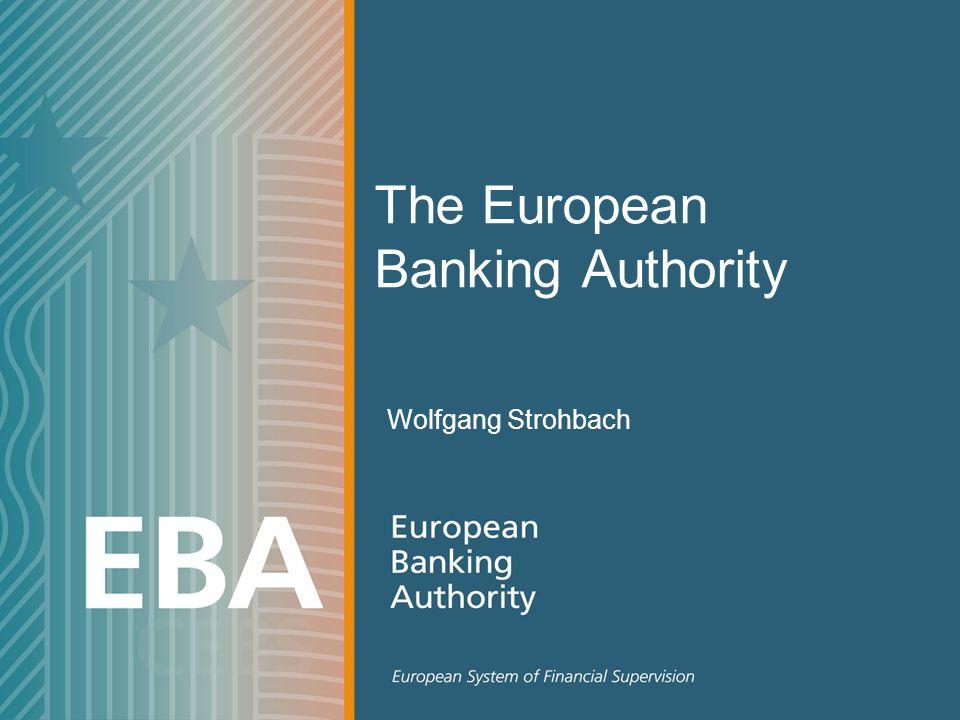 The European Banking Authority