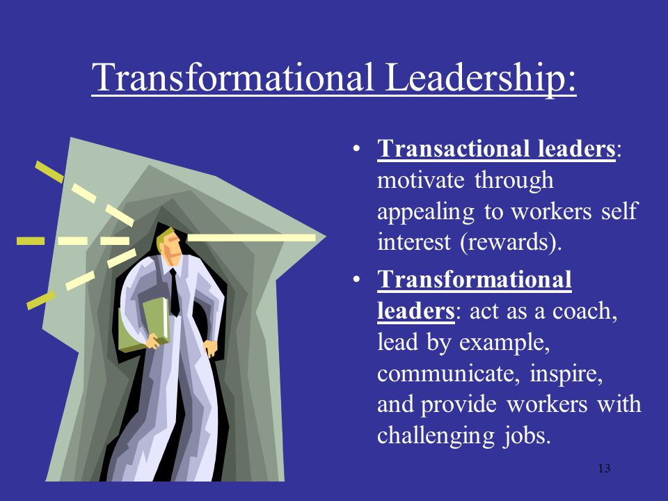 Transformational Leadership: