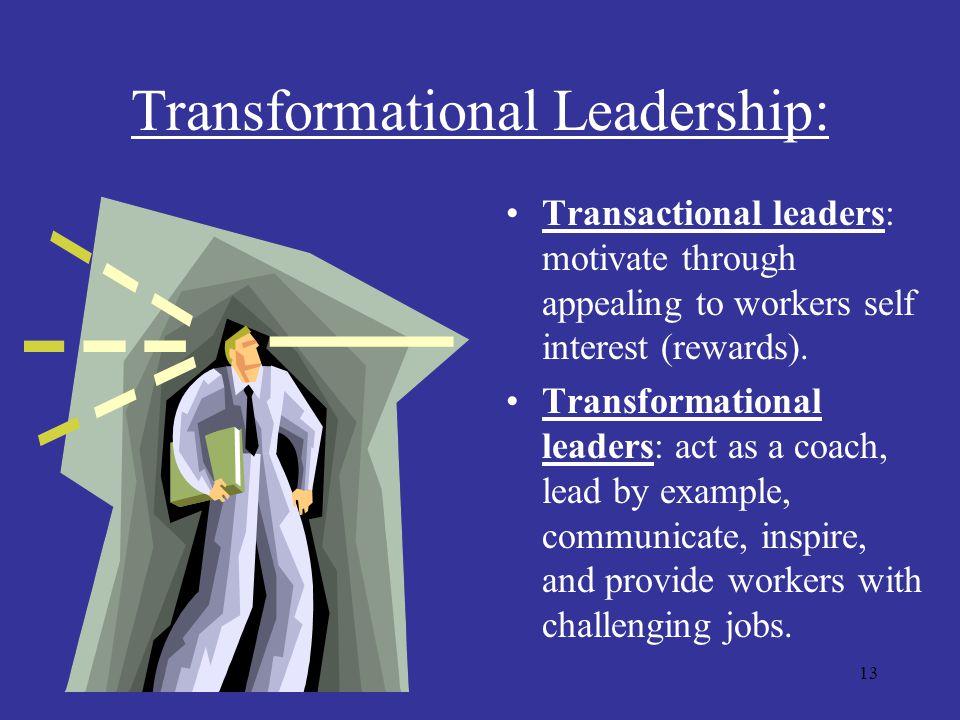 Transformational Leadership: