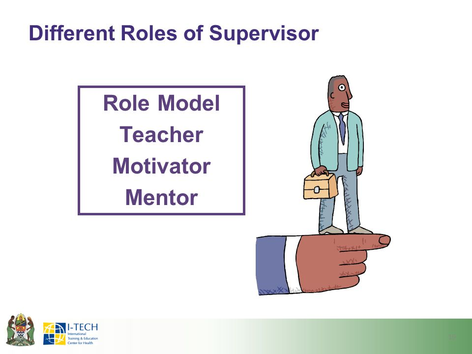 Different Roles of Supervisor