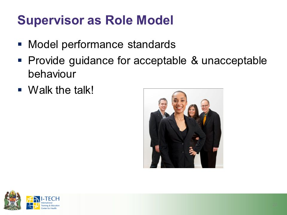 Supervisor as Role Model