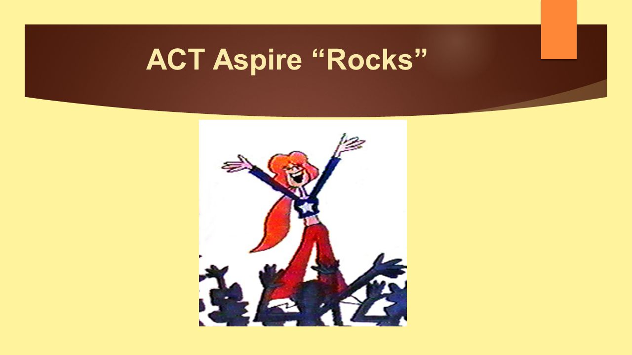 ACT Aspire Rocks