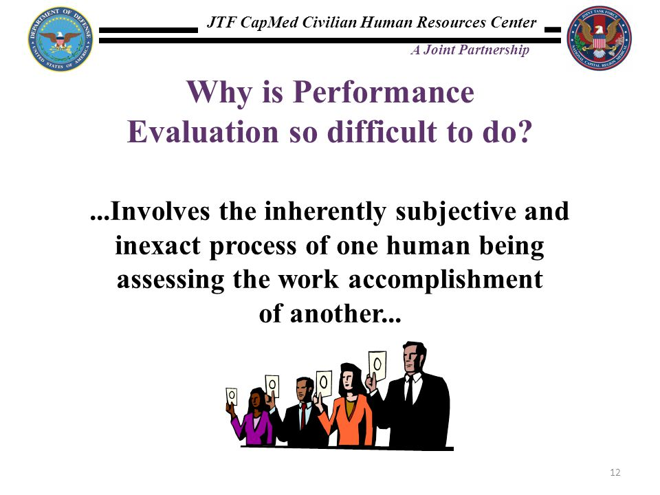 Why is Performance Evaluation so difficult to do