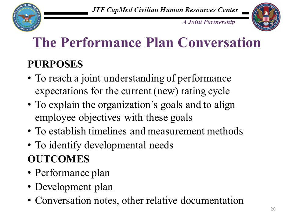 The Performance Plan Conversation