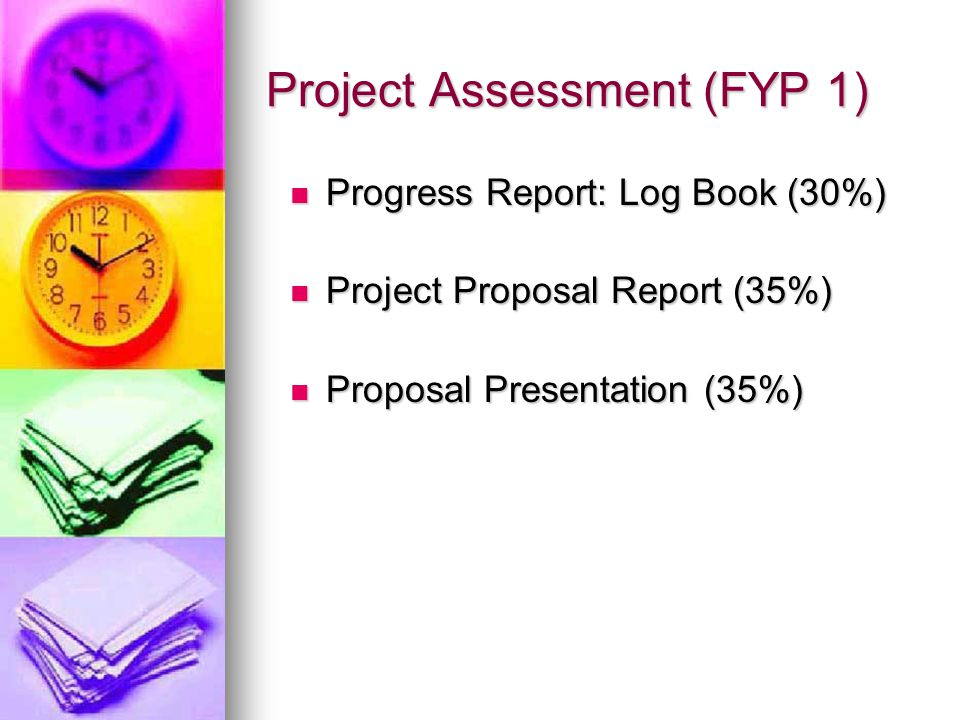 Project Assessment (FYP 1)