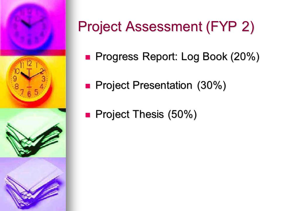 Project Assessment (FYP 2)