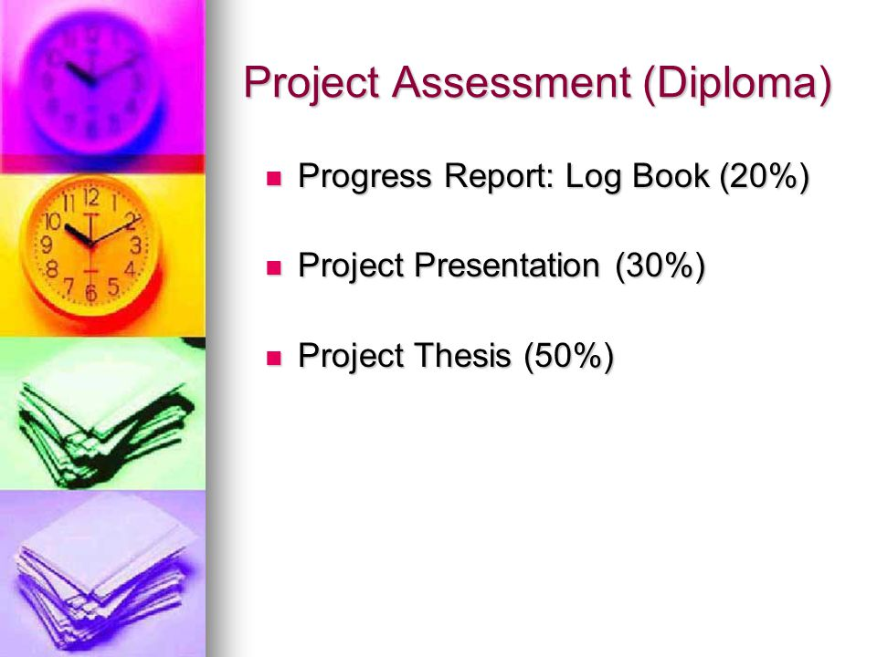 Project Assessment (Diploma)