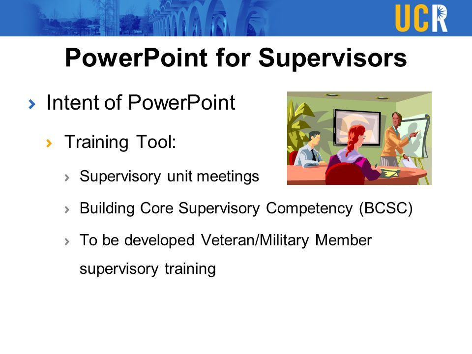 PowerPoint for Supervisors