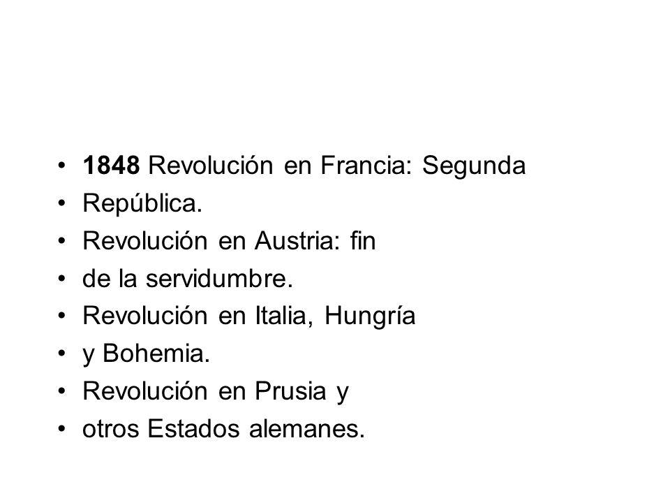 1848 Revolución en Francia: Segunda
