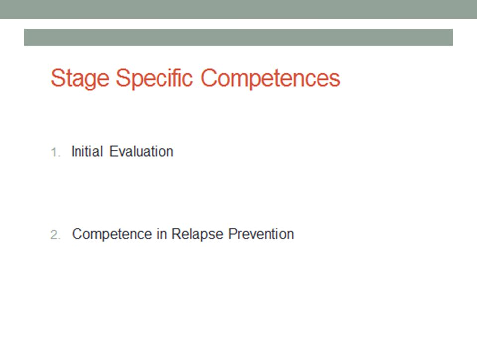 Competence in initial evaluation is crucial as most CBT treatments are diagnosis specific e.g Ehlers and Clark treatment of PTSD