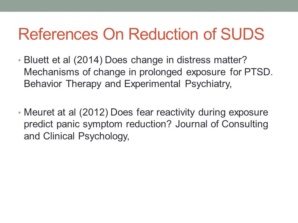 References On Reduction of SUDS