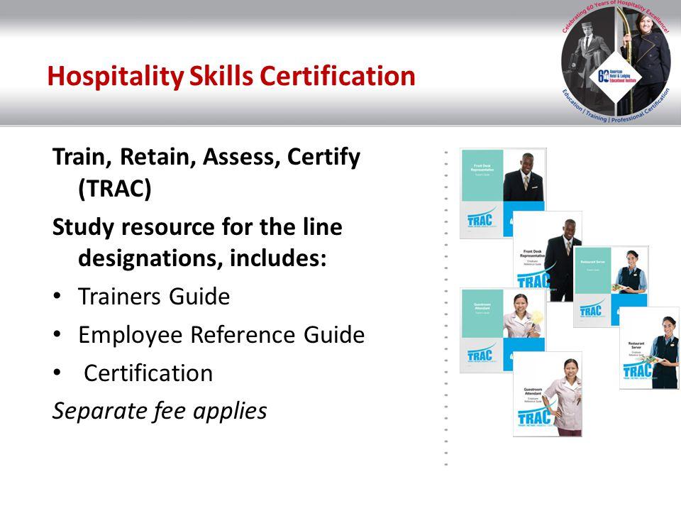 Hospitality Skills Certification