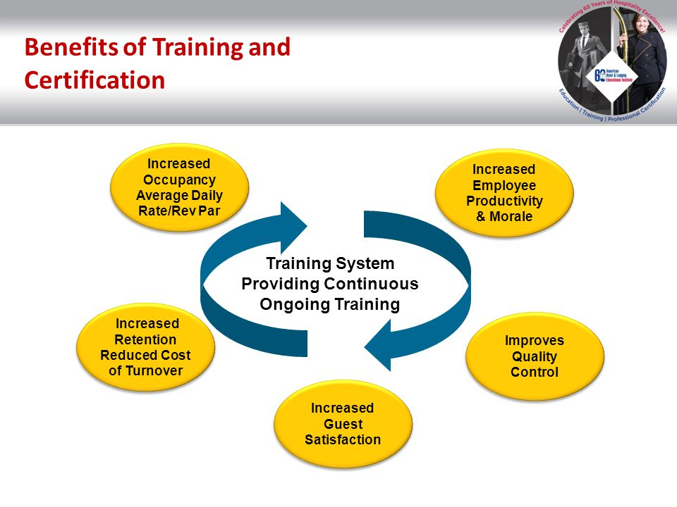 Benefits of Training and Certification