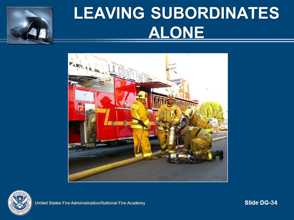 Leaving Subordinates Alone