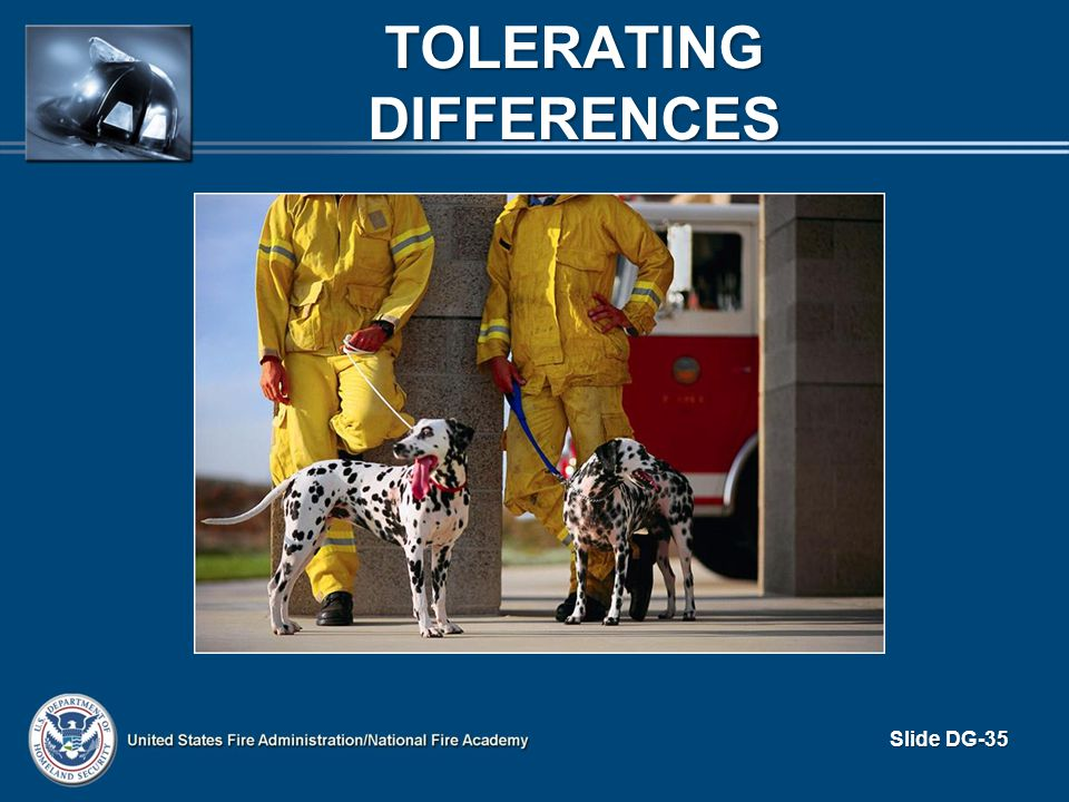 Tolerating Differences
