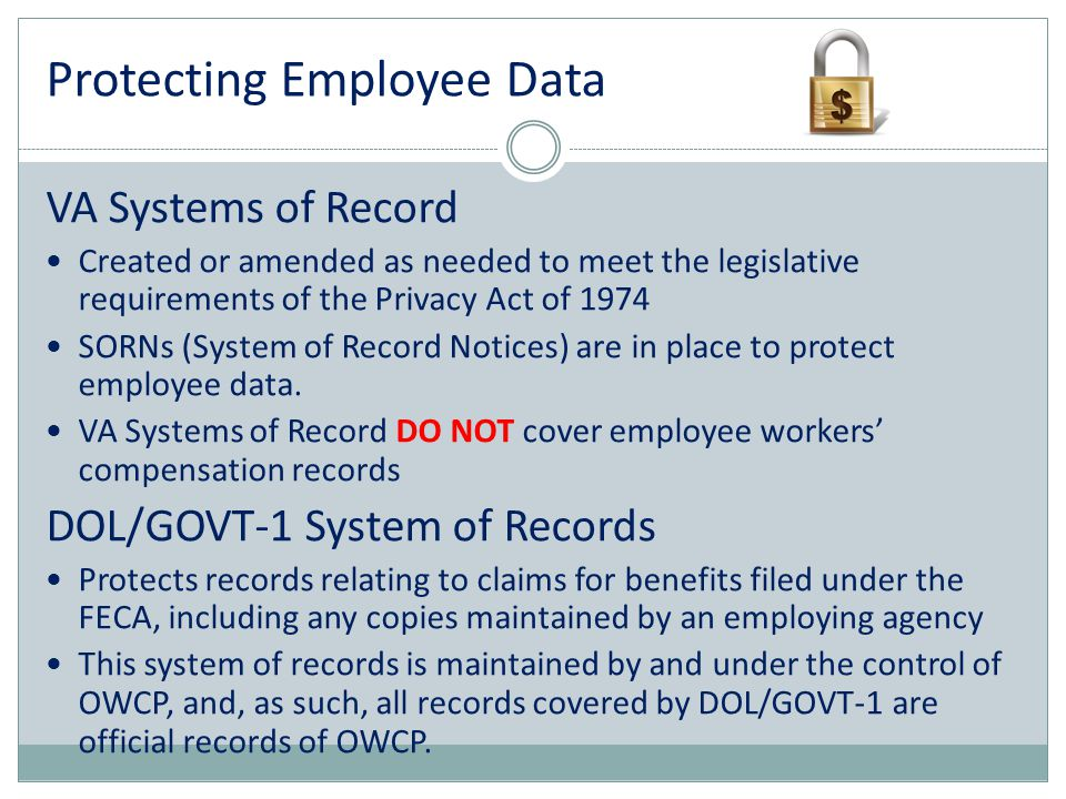 Protecting Employee Data