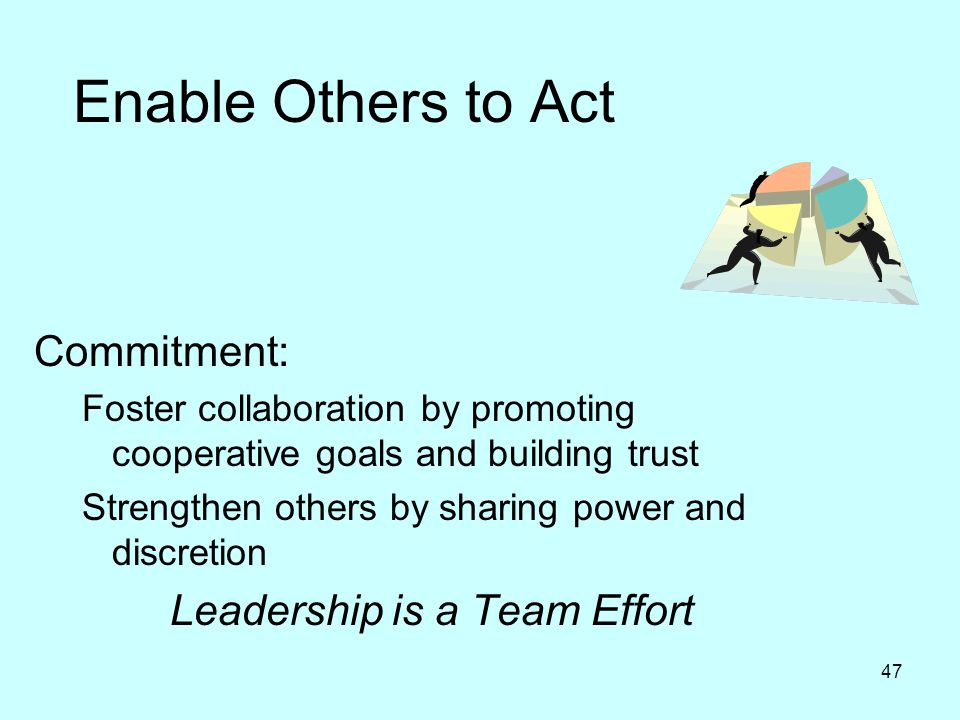 Leadership is a Team Effort