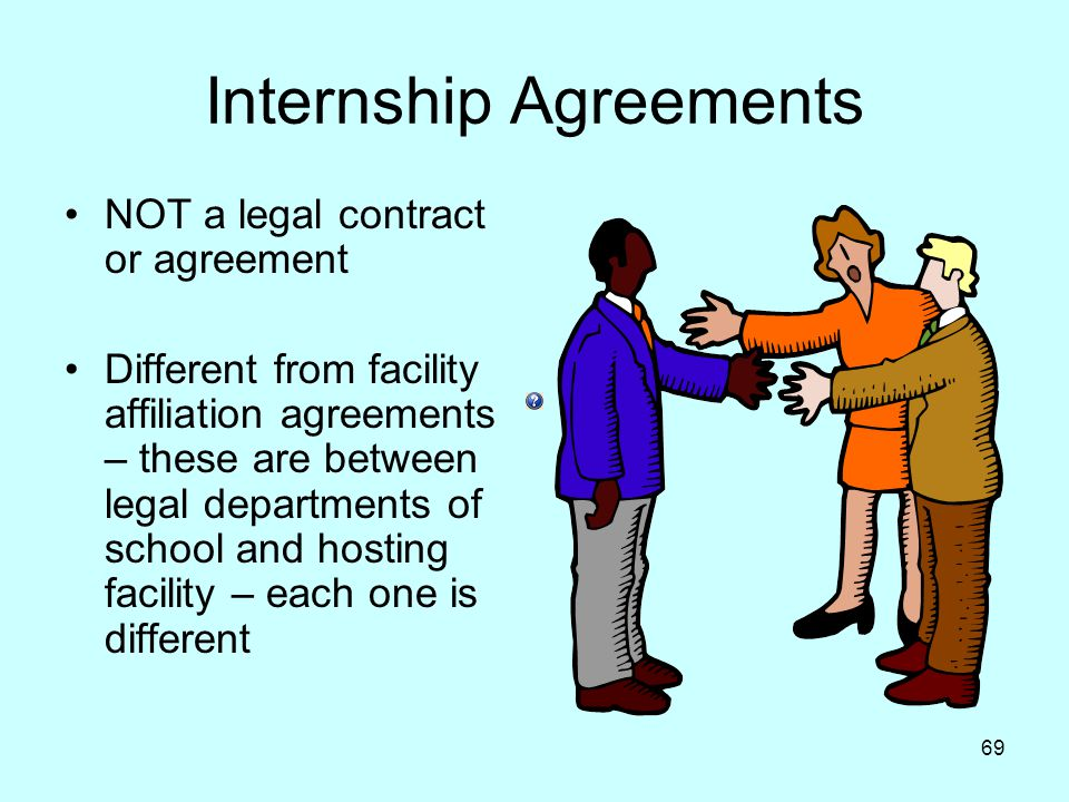 Internship Agreements
