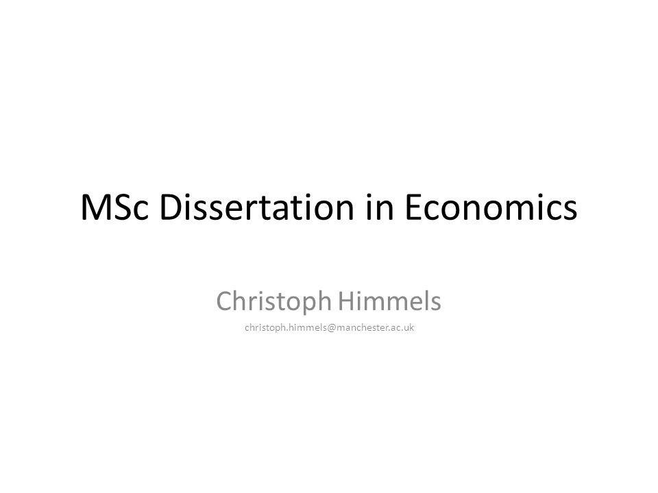 Buy economics dissertation