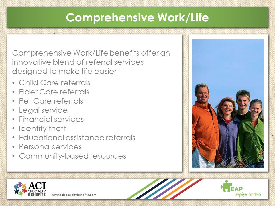 Comprehensive Work/Life