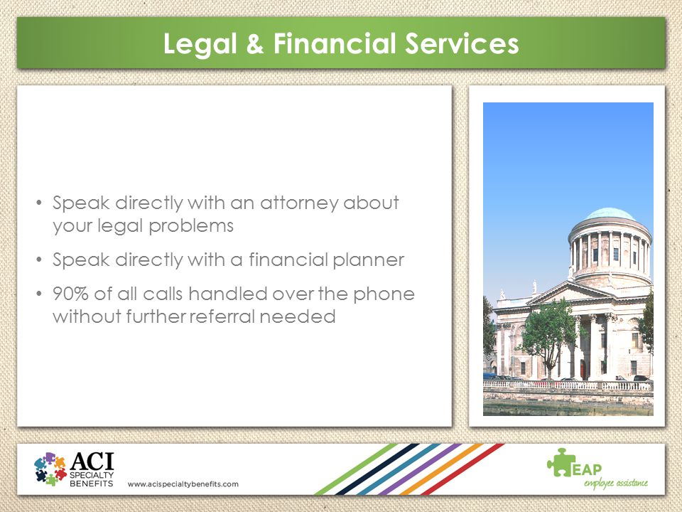 Legal & Financial Services