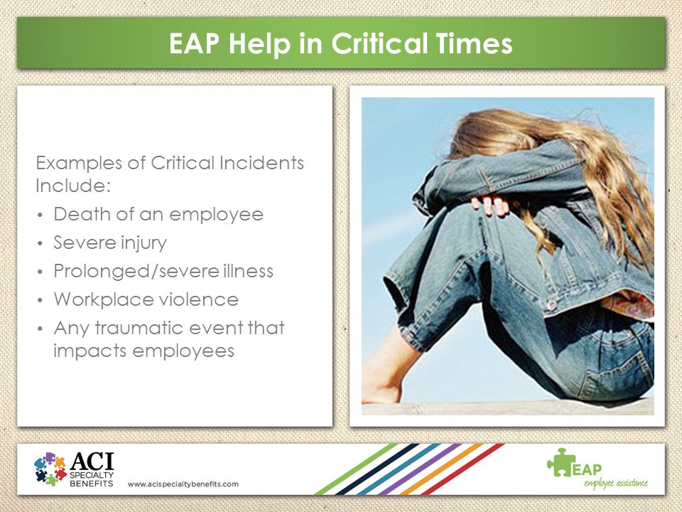 EAP Help in Critical Times