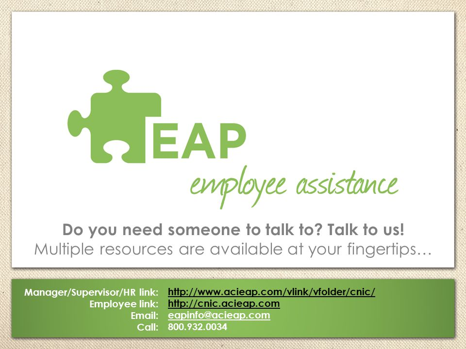 Do you need someone to talk to Talk to us!