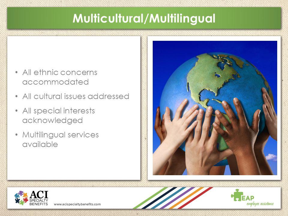 Multicultural/Multilingual